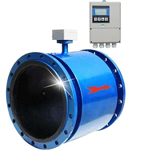 Magnetic flow meter to be used as industrial water flow meter